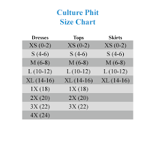 Zenobia Size Chart Culture Phit Nova 3 4 Sleeve Dress With Back Strap Detail
