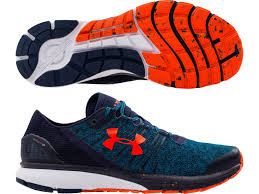 under armour shoes blue. under armour charged bandit 2 mens running shoes - blue m