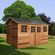willow timber garden shed 3 64m x 2 53m