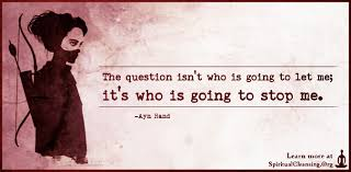 the question isn t who is going to let me it s who is going to the question isn t who is going to let me it s who is going