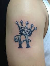 Letters For Tattoos Names Template Delectable 48 Crown Tattoo Designs Fit For Royalty