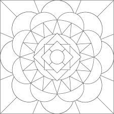 Small Picture Easy Printable Mandala Coloring Pages Coloring Coloring Pages