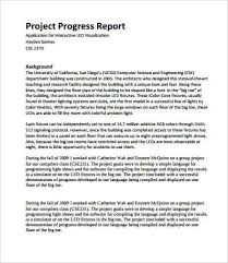 Project Report Format 28 Free Pdf Word Documents