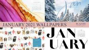 January 2021 Wallpapers