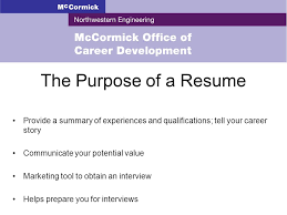 The Purpose Of A Resumes Resume Writing Objectives Understand The Purpose Of A Resume