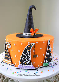 Witch Decorating Witch Hats A Halloween Cake Decorating Tutorial My Cake School