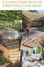 12 beautiful shade structures patio
