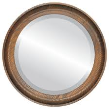toasted oak rustic wall mirrors