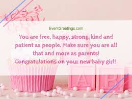 Congratulate On New Baby New Baby Girl Wishes Quotes And Congratulation Messages Events