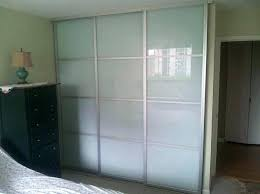 glass closet doors sliding wardrobe doors with aluminum frame glass closet for bedrooms frosted frosted glass closet doors