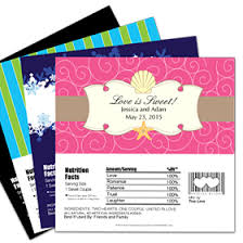 Personalized Hershey's Bar Wrappers - Silhouette Collection
