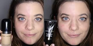 apply foundation and powder
