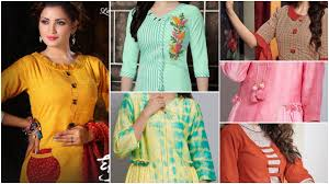 Latest Stitching Design Latest Kurti Designs For Stitching Simple Craft Ideas