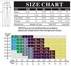 Fabletics Size Chart Uurun Black Capri Leggings For Women Fabletics High Waisted Leggings With Pockets Womens Workout Running Yoga Sports Gym Active Leggings Short