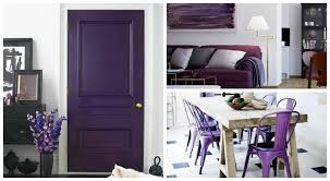 purple home decor give your home a touch of royalty