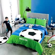 soccer bedding sheets twin
