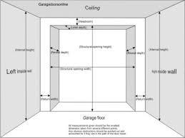 industrial garage door dimensions. Interesting Garage Single Garage Door Size Us Designs For Industrial Dimensions I
