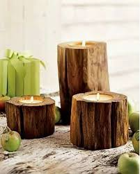 Wood Candle Holders - 30 Creative DIY examples of Candle Holders ...