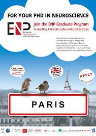 the graduate program eacute cole des neurosciences paris icirc le de what enp offers to recruited students