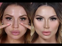 10 tips tutorials and s to teach you how to contour your nose with makeup for a smaller thinner nose you ll love