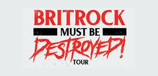 britrock must be destro tour logo