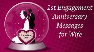 40st Engagement Anniversary Messages For Wife Beauteous One Year Complete Engagement Status Hubby