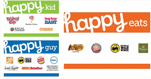gift cards on you can use them at multiple s happy eats gift cards are selling for 44 19 reg 52 at staples which includes restaurants such