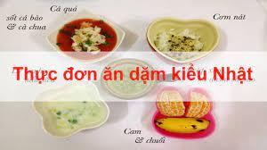 Thực đơn ăn dặm kiểu Nhật kết hợp ăn dặm truyền thống, nên hay không Ăn dặm  kiểu Nhật có ưu điểm gì? - YouTube
