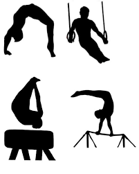 vault gymnastics silhouette. Perfect Silhouette 570x713 Male Gymnast Gymnastics Silhouette Die Cut Files Collection On Vault