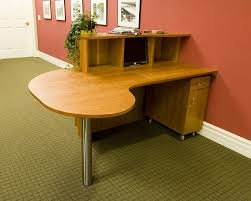 custom wood office furniture. Office Furniture. Solid Cherry Table Top And Work Station Custom Wood Furniture
