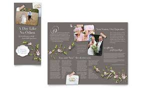 Wedding Planner Ppt Wedding Event Marketing Brochures Flyers Postcards