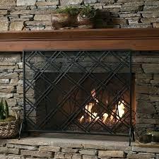 flat fireplace screen single panel fireplace screen single panel iron fireplace screen geometric single panel flat