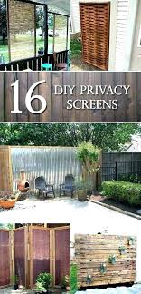 backyard privacy dividers portable outdoor screen ideas best about screens
