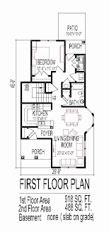 small one story house plans. Small One Story House Plans For Narrow Lots Best Of 2 Lot Planskill Collection 50 E