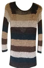Theory Woven Striped Multicolor Sweater 89 Off Retail