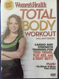 womens health total body workout with amy dixon ebay