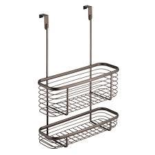 Over The Cabinet Basket Norsk Slatwall Bike Hook And Basket Combo Snh 9204 The Home Depot