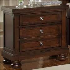 530-226 Vaughan Bassett Furniture Nightstand - Dark Cherry