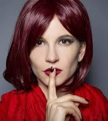 to dye burgundy hair color