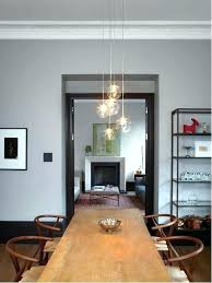 copper pendant light dining table lighting room interesting hanging lights for how low to hang pe