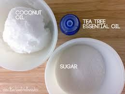 tea tree sugar scrub ings