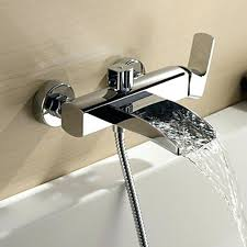 bathtub faucet with hand shower features bathtub faucet handheld shower head bathtub spout hand held shower