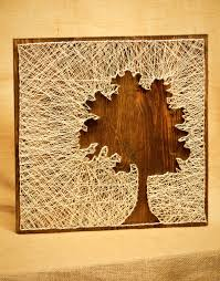 Tree Silhouette String Art. $60.00, via Etsy. This doesn't look so ...