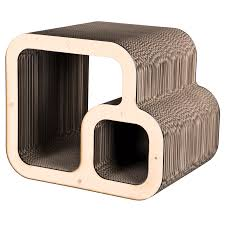Corrugated Cardboard Furniture Furniture Fabulous Design Of Cat Scratcher For Pet Furniture
