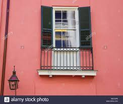 French Quarter Shutters Window Stock Photos French Quarter