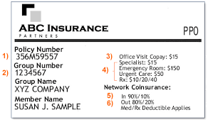 Health On Number Card Policy And Insurance -