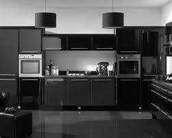 Modern Black Kitchen Cabinet Ideas Orangearts Elegant Design With ...