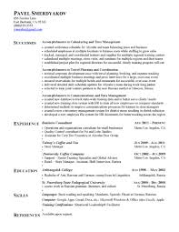 Resume Samples With Accomplishments Section Resume For Study