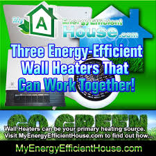 wall panel heater as primary heat source