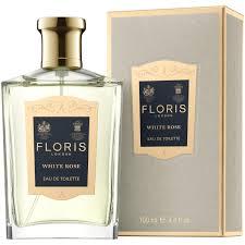 <b>Floris White Rose</b> Eau de Toilette, 100ml at John Lewis & Partners